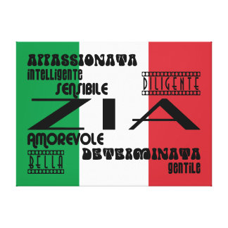 Italian Aunts : Qualities Canvas Prints