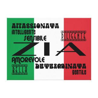 Italian Aunts : Qualities Stretched Canvas Prints