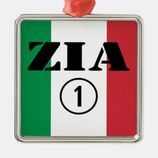 Italian Aunts : Zia Numero Uno Christmas Ornament