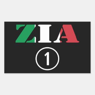 Italian Aunts : Zia Numero Uno Stickers