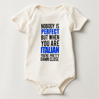 Italian Baby Bodysuit