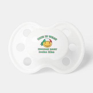 Italian baby designs baby pacifier
