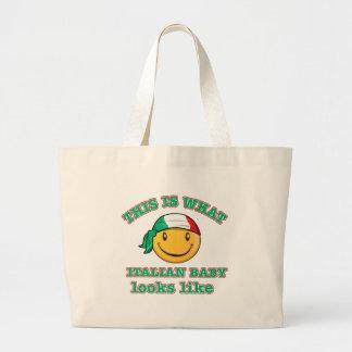 Italian baby designs tote bag