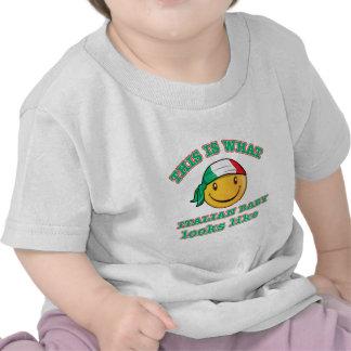 Italian baby designs tees