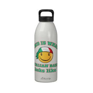 Italian baby designs reusable water bottle