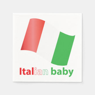 Italian baby disposable serviettes