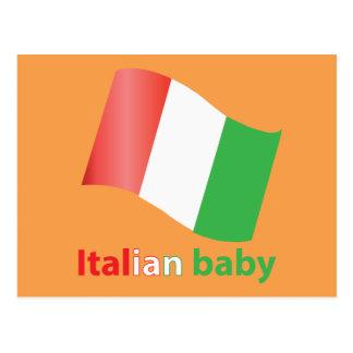 Italian baby postcard