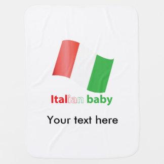 Italian baby pramblankets