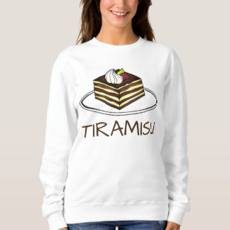 Italian Bakery Tiramisu Dessert Food Bakery Berry Sweatshirt