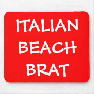 ITALIAN BEACH BRAT MOUSE MOUSE PAD