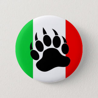 Italian Bear Pride 6 Cm Round Badge