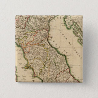 Italian Boarder Coutries 15 Cm Square Badge