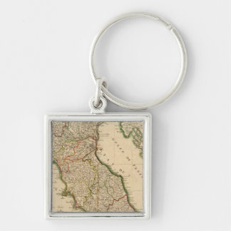 Italian Boarder Coutries Key Ring