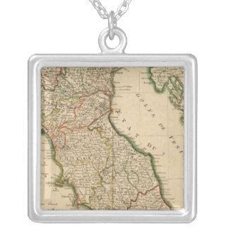 Italian Boarder Coutries Silver Plated Necklace