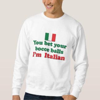 Italian Bocce Balls Sweatshirt