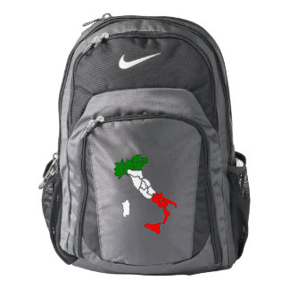 Italian boot backpack