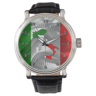 Italian boot wristwatches