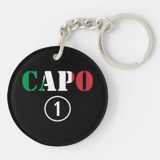 Italian Bosses Capo Numero Uno Keychains