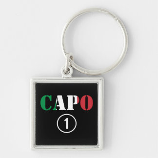 Italian Bosses Capo Numero Uno Key Chains