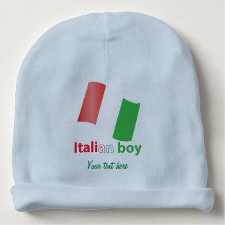 Italian boy baby beanie