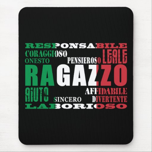 Italian Boyfriends : Qualities Mouse Pads