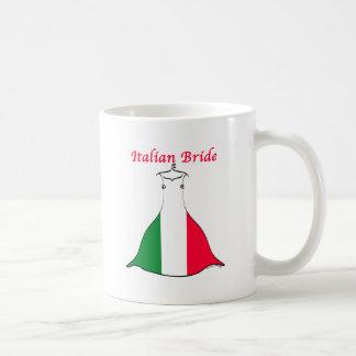 Italian Bride Basic White Mug