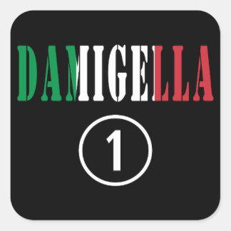 Italian Bridesmaids : Damigella Numero Uno Sticker