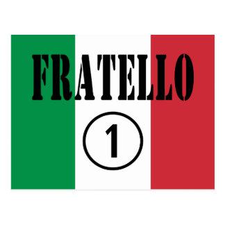 Italian Brothers : Fratello Numero Uno Postcard