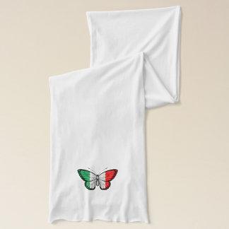 Italian Butterfly Flag Scarf