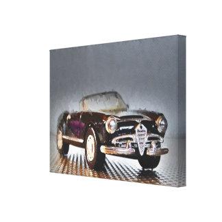 Italian Cabriolet Artwork Jean Louis Glineur Canvas Print