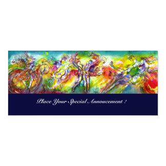 ITALIAN CARNIVAL Masquerade Ball,Dance and Music Card