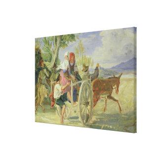 Italian Cart Canvas Print