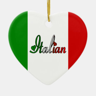 Italian Ceramic Heart Decoration