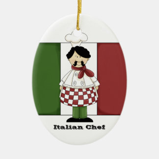 Italian Chef #2 Kitchen Ornament