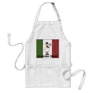 Italian Chef #4 Apron