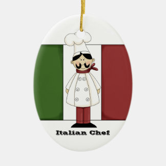 Italian Chef #6 Kitchen Ornament
