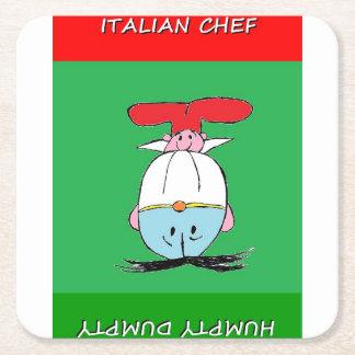 ITALIAN CHEF AND HUMPTY DUMPTY TABLE COASTERS