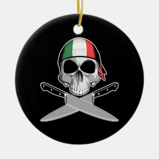 Italian Chef Christmas Ornament