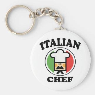 Italian Chef Keychains