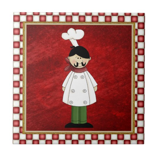 Italian Chef Kitchen tile