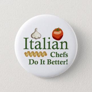 ITALIAN CHEFS 6 CM ROUND BADGE