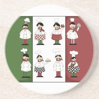 Italian Chefs Coaster