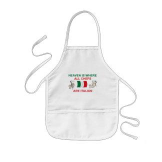 Italian Chefs Kids Apron
