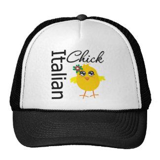 Italian Chick Trucker Hats