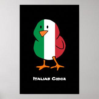 Italian Chick Poster
