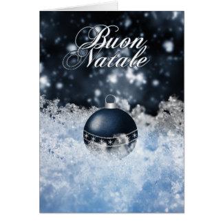 Italian Christmas Card - Buon Natale e Felice Anno