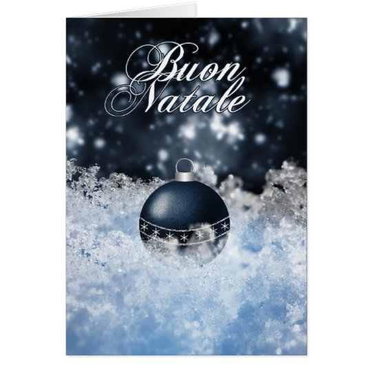 Italian Christmas Card - Buon Natale e Felice