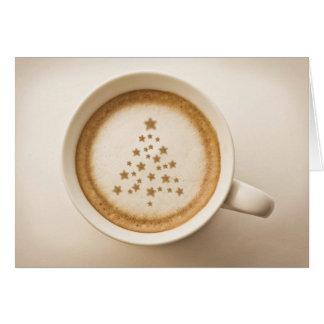 Italian Christmas Coffee Greeting Card