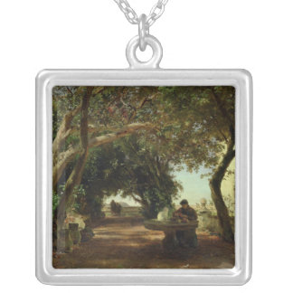 Italian Cloisters Silver Plated Necklace