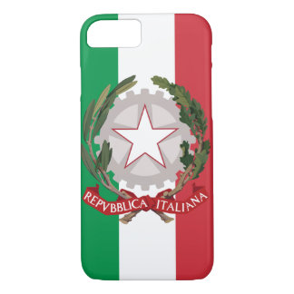 Italian Coat of Arms Flag iPhone 7 Case